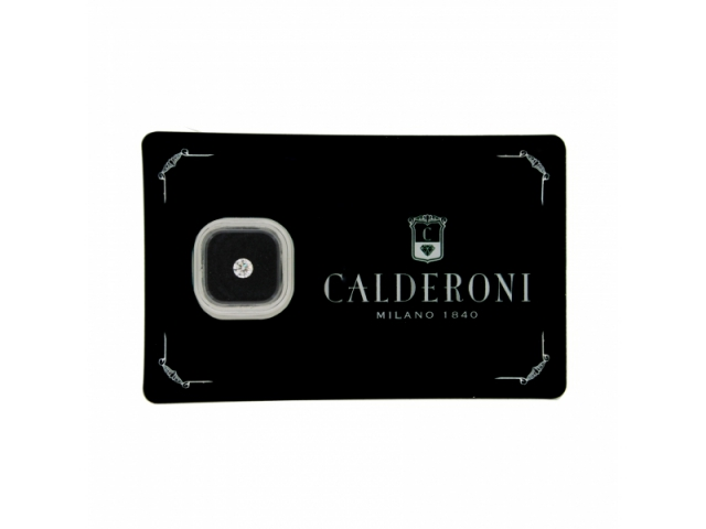 Diamante Calderoni Naturale 0.15 ct F Color