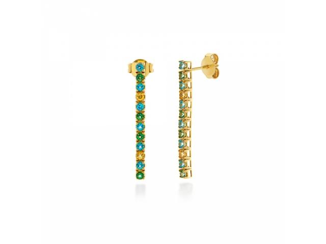 Amalfi Tennis Paradiso Earrings