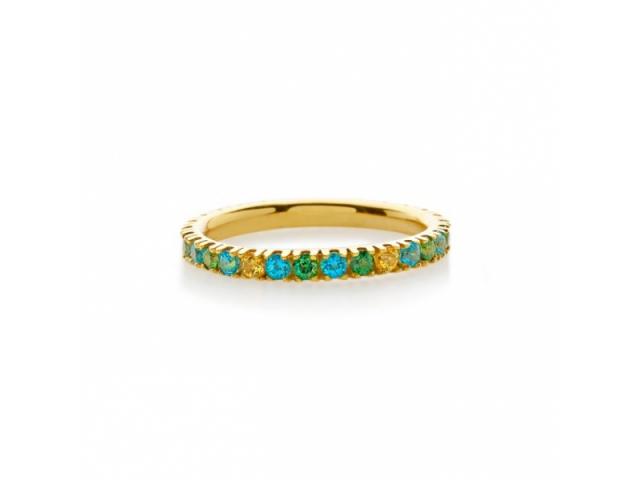 Amalfi Full Eternity Paradiso Ring