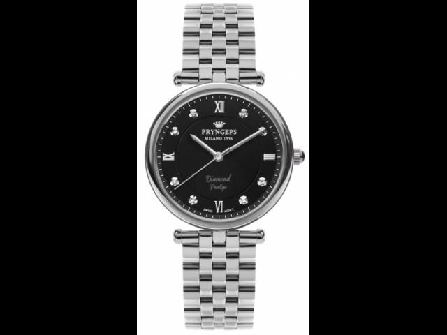 Swiss Quartz Prestige Chloe Black Watch