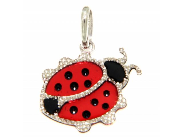Gold Lucky Ladybug Charm