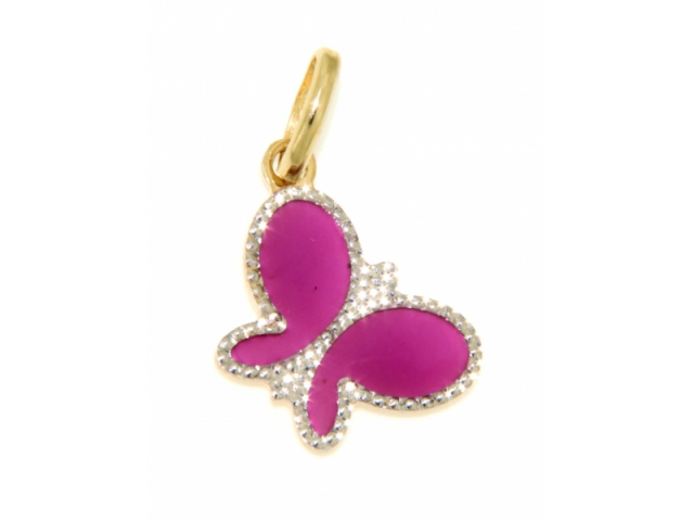 Butterfly Gold Charm