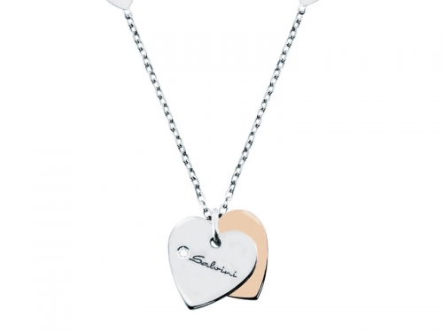 Minimal Pop Heart Necklace