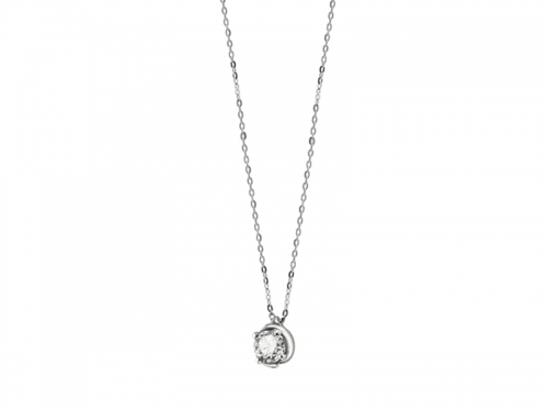 Embrace White Gold and Diamonds Women Collier