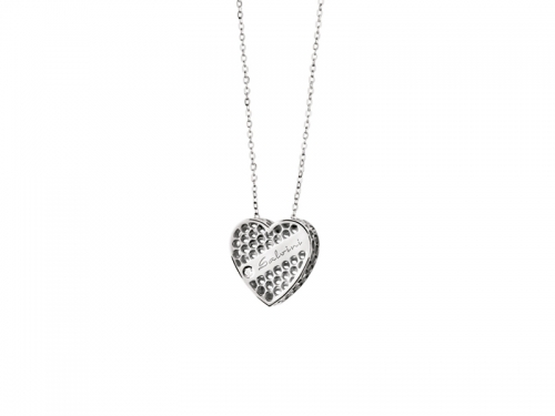 Salvini Golden Cage Heart Necklace