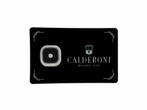 Diamante Calderoni Sigillato Naturale IF 0.08 ct G