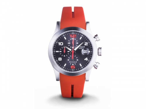 Locman Island Red Cronograph Watch