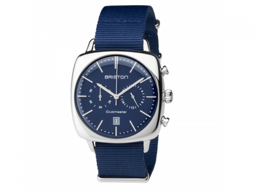 Men's Clubmaster Vintage Steel Chronograph Watch