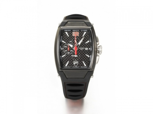 Locman Ducati Cronograph Watch Black