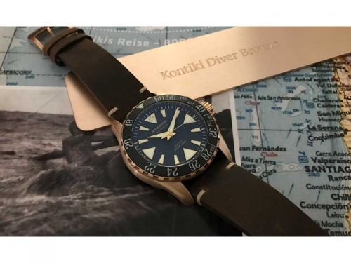 Eterna KonTiki Diver Bronze Manufacture Limited Edition