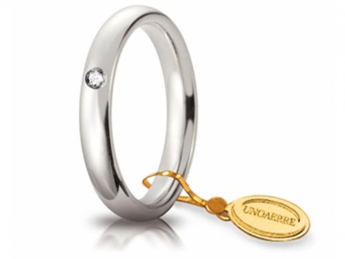 Comoda Wedding Ring 3.5mm White Gold