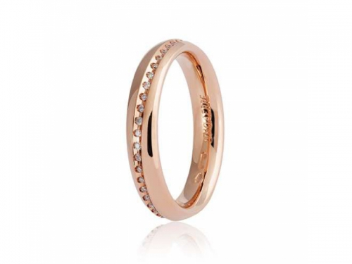 Infinito 9.0 Anniversary Ring Rose Gold and Diamonds